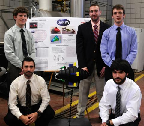 Mechanical Engineering DARPA Team