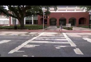 Unique Crosswalk Installed Near Student Union