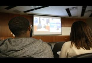 Students Host State of the Union Watch Party